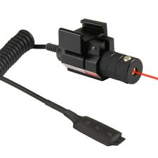 Tactical Red Dot Laser Sight F Rifle Pistol Mount Remote Switch Picatinny Rail