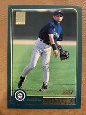 New listing Ichiro Suzuki 2001 Topps #726 Rookie RC