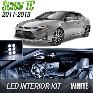2011-2015 Scion tC White LED Lights Interior Kit