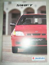 Suzuki Swift range brochure May 1998