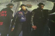 "2 RUN-DMC 12"" SINGLE/ RUN'S HOUSE/ GHOSTBUSTERS/ HIP HOP OLD SCHOOL"