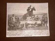 Tripoli nel 1922 Maresciallo dei Carabinieri Franco Magliola Libia