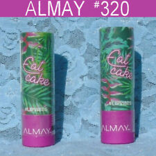 New Listing2 Almay Lip Vibes Cream Lipstick Eat Cake #320 0.14 oz. - New
