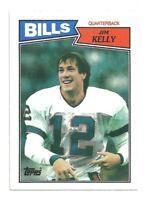 1987 Topps Jim Kelly Buffalo Bills RC Rookie Card #362