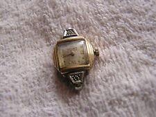 Vintage Gruen Veri Thin Watch 10K Gold Women's Ladies 17 Jewels