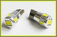 T10 W5W 501 6 SMD LED SIDELIGHT INTERIOR CAN OBC ERROR FREE NEW bulbs MERCEDES 1