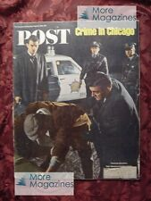 Saturday Evening POST April 22 1967 CHICAGO Crime MONTREAL EXPO 67 LESTER MADDOX
