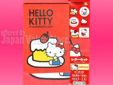 Hello Kitty Letter Envelope Sticker Set - Wonderful Day ( Made in Japan )
