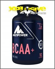 Multipower BCAA+ 102 Capsules - BCAAs Branch Chain Essential Amino Acids