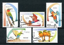 Namibia 2015 CTO Bee Eaters of Namibia 5v Set Birds Bee-Eaters Fauna Stamps