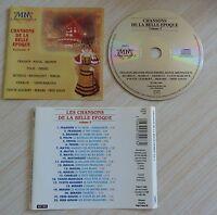CD album CHANSONS DE LA BELLE EPOQUE VOL. 2 22 TITRES 1989