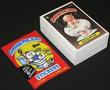 GARBAGE PAIL KIDS © 1986 Topps Complete 6th Series (A&B) Card Set + GPK Wrapper