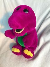 "Vintage 1992 Dakin BARNEY the Purple Dinosaur Plush 15"" Tall Lyons"