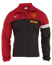 Nike Manchester United Warm Up Jacket Mens 477788-066 Red Soccer Jacket Size XL