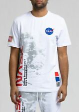 Hudson Nasa Short Sleeve Men's Shirts White-Blue-Red h1052172-wht