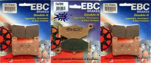 EBC HH Front and Rear Brake Pad for 2006-2010 Suzuki GSXR600 750 FA379HH FA419HH