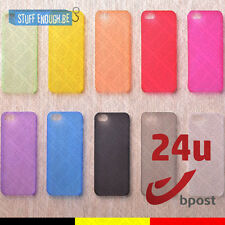 Transparant Case Cover Cas Housse Etui Coque Silicone iPhone 4 4S TELL US COLOR