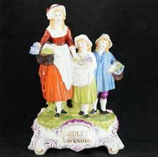 VINTAGE DRESDEN PORCELAIN YARDLEYS OLD ENGLISH LAVENDER FIGURE FIGURINE