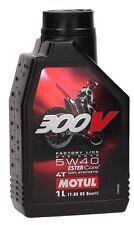 MOTUL 300v 4t Factoría LINE OFF ROAD 5w40 sintético Aceite de motor 1 Litro