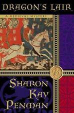 Sharon Kay Penman~DRAGON'S LAIR~1ST/DJ~SIGNED~NICE COPY