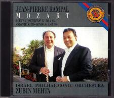 Jean-Pierre Rampal: Mozart Flute Concerto 1 2 Andante k.315 RONDO Zubin Mehta CD