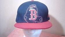 Fitted Baseball Cap Blue BOSTON RED SOCKS size 7 5/8 by NewEra