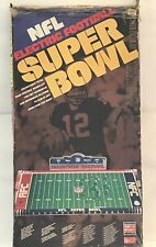 Vintage NFL Super Bowl Tudor Electric Football Game 600 With Box Tested WORKS