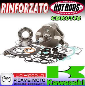 KAWASAKI KX 450 F 2007 2008 HOT RODS KIT REVISIONE MOTORE ALBERO + CUSCINETTI