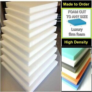 CUT TO SIZE SHEET CUSHION PADS HIGH DENSITY UPHOLSTERY FOAM ARAB SEAT YOGA SHEET