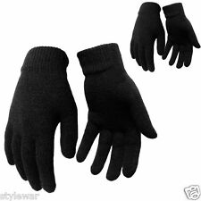 New Adult Unisex  Magic GLOVES BLACK THERMAL MAGIC  WINTER GLOVES Fast dispatch