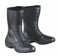 Lindstrands Brick Boot Touring Motorbike Boots Black CE RRP £139.99