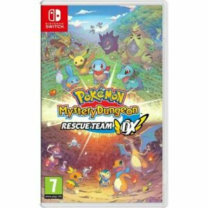Pokemon Mystery Dungeon Rescue Team DX (Switch) BRAND NEW SEALED
