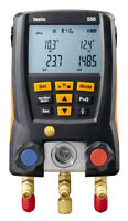 Testo Digital Manifold Gauge with Clamps & Case