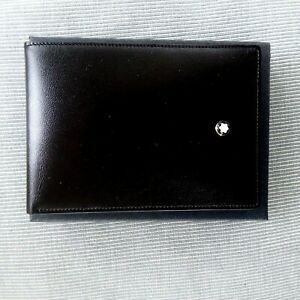 MONTBLANC MEISTERSTUCK COLLECTION POCKET NOTEBOOK -NEW  WITH DRAWSTRING BAG -BLA