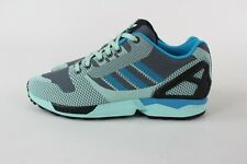 Adidas Blue Mens ZX Flux Trainers Size UK 8.5
