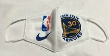 Golden State Warriors Cotton white Mask-  Curry, Thompson