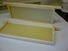 10 x SN4 Beehive Frames with UNWIRED Foundation, Assembled