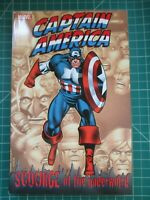 MARVEL CAPTAIN AMERICA SCOURGE OF THE UNDERWORLD TPB NEW UNREAD
