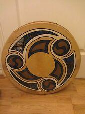"""GRANDE Waltons Irlandese Celtico reale Bodhran K0922 18"""" di diametro Irlandese DRUM & Battitore"""