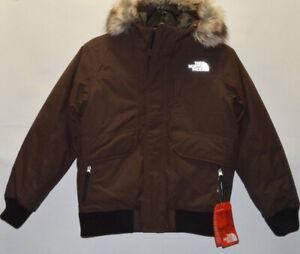 NWT The North Face New $199.00 Boys' Gotham 550 Down Jacket Size Medium