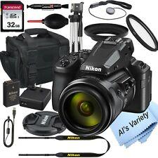 Nikon COOLPIX P950 Digital Camera+ 32GB Card, Tripod, Case, and More (17pc)