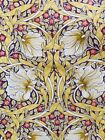 """A Yellow 'Pimpernel' William Morris Liberty Style Tana Lawn Fabric 13""""x 9"""""""