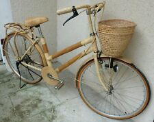 ANCIEN VELO  , bicyclette dame bambou collection , roues 650