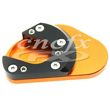 Sidestand Plate Kickstand ExtensionFoot Pad For KTM RC125 RC200 RC390 2014-2015