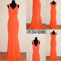 "MYLEENE KLASS Petal Strap Maxi Dress Sizes 10,12 Length: 60"""