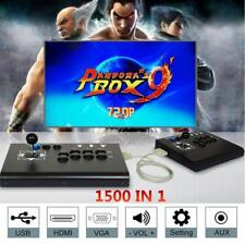 2018 Separable 1500 Games Pandora Box 9 Video Double Stick Split Arcade Console