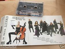 ATROCITY – Werk 80 MC tape RARE POLISH PRESS 1997