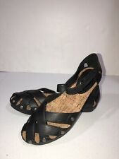 New Bare Traps Leather Ankle Strap Sandals Size 8 M