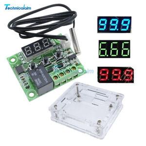 DC12V -50~110°C W1209 Digital LED Thermostat Temperature Control Switch Sensor