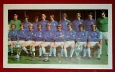Cardiff City 1971 VINTAGE COLORE TEAM Foto cartolina